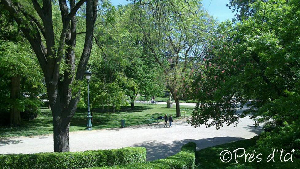 Jardin Grand rond - Près d\'ici