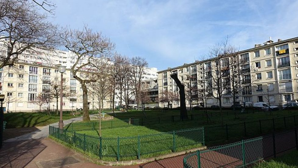 Jardins d\'immeubles de la Porte de Vincennes - Près d\'ici